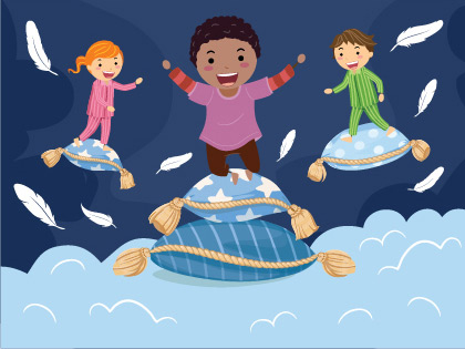 Pillowland by Laurie Berkner is the Newest Interactive Play Your Kids Will Love!