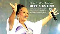 Queen Esther Marrow: Here's to Life!