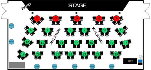 Circus Center Seating Chart