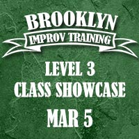 Brooklyn Improv Training - Level 3