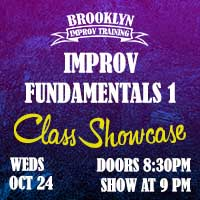 Improv Fundamentals 1 (Sept-Oct)