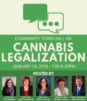 2019 Community Town Hall on Cannabis Legalization (State Representative Ann M. Williams)