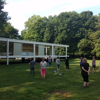 XFox River Flow: Tai Chi at the Farnsworth House