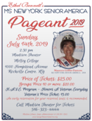 Ms. New York Senior America Pageant 2019