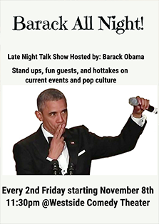 Barack All Night!