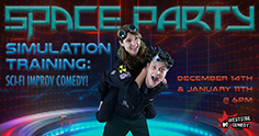 SPACE PARTY Simulation Training