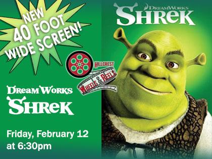 CANCELED: DreamWorks' Shrek: Wheels and Reels Film Screening