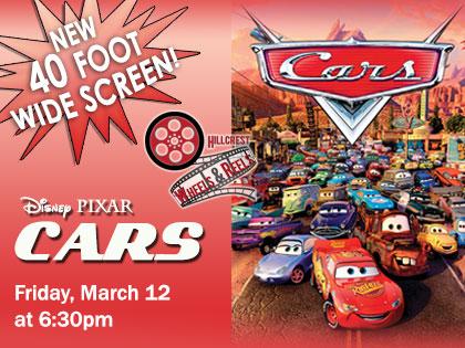Disney's Cars: Wheels and Reels Film Screening