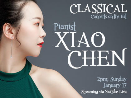 Xiao Chen, Pianist: Streaming Concert