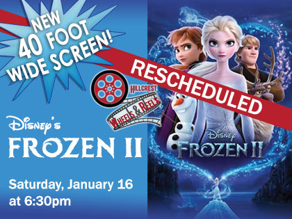 Rescheduled: Disney's Frozen II: Movies From Your Car