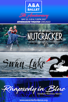 The Art Deco Nutcracker, Swan Lake, Rhapsody in Blue