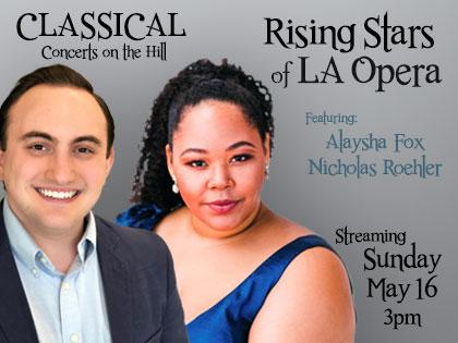 Rising Stars of the LA Opera Concert