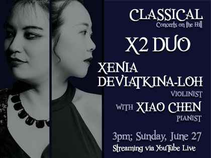 X2 Duo - Streaming Classical Concert