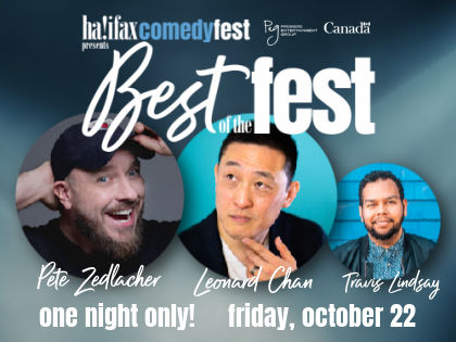 Halifax Comedy Fest Presents Best of the Fest