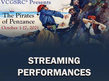 Pirates of Penzance: Streaming
