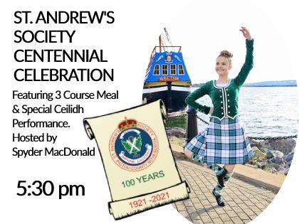 St. Andrews Society Centennial Celebration 2021